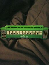 Desire St 463 Trolley Car Vintage Non Powered Unit Nice