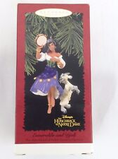 Hallmark Disney Esmeralda and Djali Hunchback of Notre Dame Christmas Ornament