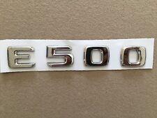 MBZ.     E500.  Rear-Emblem-Badge