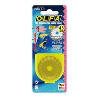 OLFA 45mm Stainless Steel Pinking Rotary Blade PIB45-1