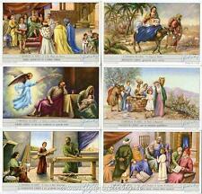Chromo Liebig Sang. 1667 ITA L'Infanzia di Gesù ANNO 1957
