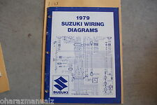1979 Suzuki Motorcycle & Atv Wiring Diagrams Manual