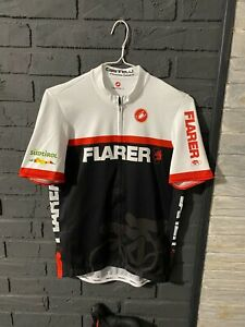 Castelli  JERSEY cycling Full Zip Great Condition  size XL shirt Flarer