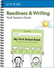 Handwriting Without Tears - Readiness & Writing  Pre-K Parent Guide - NEW