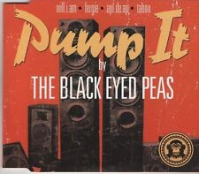 THE BLACK EYED PEAS Pump It 3 TRACK CD  NEW - NOT SEALED