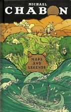 MICHAEL CHABON Maps and Legends Reading and Writing Along the Borderlands HC NEW