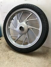 Honda Glr125  CB 125F Front Wheel  And Michelin 80 / 100 / 18 Tyre From A 2015