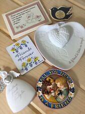 Friends Lot Hallmark, Mary Engelbreit, Pam Elifritz. Ornament, dish, magnets