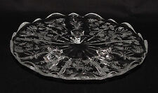 "PERFECT Vintage Fostoria ""CHINTZ"" Etched Footed Tidbit Tray!!"
