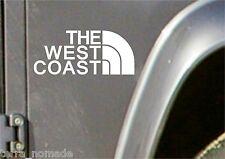 La Costa Oeste coche decal sticker Jdm Vw Dub Vag euro Carrera Drift Funny Surf