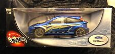 Hot Wheels Hall of Fame Ford Focus Blue 1/18 New