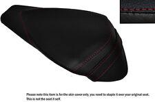 RED STITCH LEATHER CUSTOM FITS APRILIA RSV4 R 1000 09-15 REAR SEAT COVER