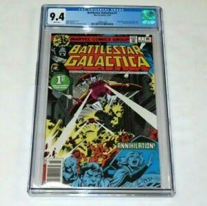 Battlestar Galactica #1 CGC 9.4NM  Marvel Comics 1978 Based on the First Episode