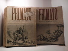 AA.VV., Primato. Lettere e arti d'Italia. Raccolta