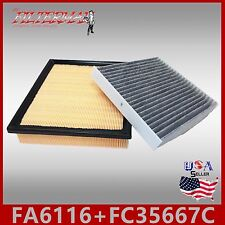FA6116 FC35667C(CARBON) ENGINE & CABIN AIR FILTER: 2010-15 RX350 & 2013-17 ES350