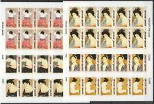 6 sheets b / w 2005 Guinea-Bissau Art Japan 10set MNH