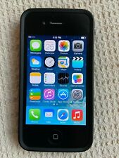 Apple iPhone 4 - 32GB Black With black Speck case Verizon