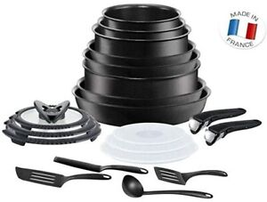 Tefal - Ingenio 20PC Non-Stick Induction Pan Set Black RRP £279.00