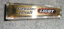 Vintage Square Miller Genuine Draft Light Beer Tap-NICE