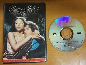 Romeo & Juliet DVD Olivia Hussey ~ Authentic US Region 1 ~ PLAYS PERFECT!