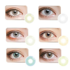 Big Eyes Colored Contacts Lenses Cosmetic Cosplay Party Club Circle Lens Magia