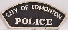 "4.5"" Shoulder Patch Edmonton City Alberta Canada Police Department Officer LEO"