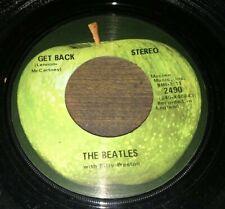 The Beatles  Get Back / Don't Let Me Down 45 Original Apple  VG+