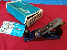Vintage Record No 04 Plane in Excellent Little Used Condition Boxed Circa 1960's