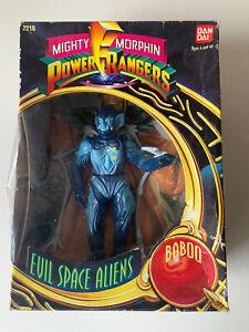 1993 Bandai Mighty Morphin Power Rangers Evil Space Aliens - Baboo