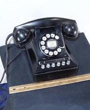 VINTAGE Black Multi Line Business Phone Western Electric Model 460 !!