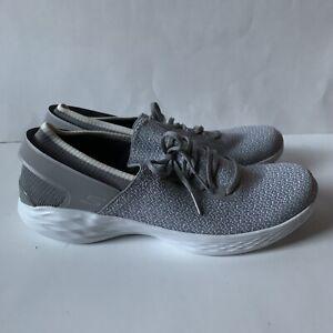Skechers You Walk Women's Gray Walking Sneakers Size 9