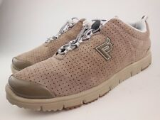 PROPET Travel Walker Taupe Suede Walking Sneakers Shoes Sz 8.5 M