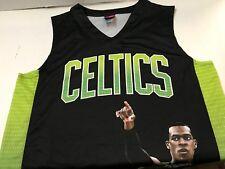 NBA Boston Celtics Rajon  Rondo # 9 Notorious Jersey  Large