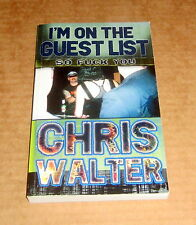 Signed I'M ON THE GUEST LIST PUNK BEER HEROIN VANCOUVER Psychedelic MARIJUANA