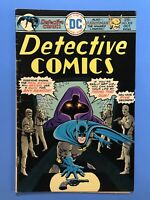 DETECTIVE COMICS #452 BATMAN & HAWKMAN the Winged Lawman! DC 1975 VG