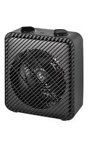 Mainstays Electric Fan Heater AND Fan Year-Round Use Indoor Black HF-1008B