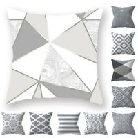 Chic Geometric Pillow Case Sofa Cushion Cover Modern Style Home Decor