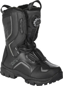 FLY RACING MARKER BOA BOOTS BLACK
