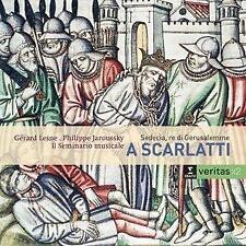 Gérard Lesne - Alessandro Scarlatti - Sedecia, Re Di Gerusalemme (NEW 2CD)