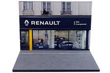 Diorama Concession Renault 2019 - 1/43ème - #43-2-B-B-054