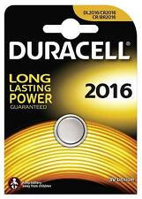 3x Duracell 2016 3V Lithium Coin Cell Batteries CR2016/DL2016 Battery - New