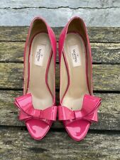 100% Authentic Pink VALENTINO GARAVANI Heels with Bow Tie in size 39,5