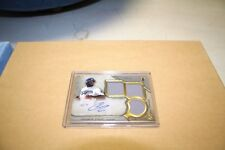 1x Andrew Toles 2017  Triple Threads Game Used Jersey RC Auto  # 39/75