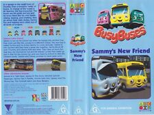 ABC~ BUSY BUSES SAMMYS NEW FREND~ VIDEO  VHS PAL
