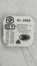 ETA 2500 - 2539 / Part No. 721N Balance complete In Genuine Packing