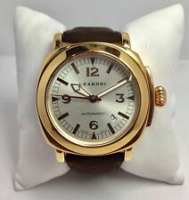Orologio uomo Leandri Automatic placcato oro - ref.3120 - prezzo listino €490