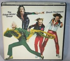 "7"" Reel Tape- The Edgar Winter Group ~ Shock Treatment ~ 3.75 Ips Play Tested Y"