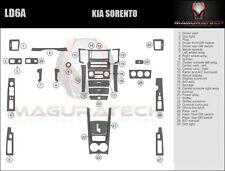 Fits Kia Sorento 2007 Large Premium Wood Dash Trim Kit