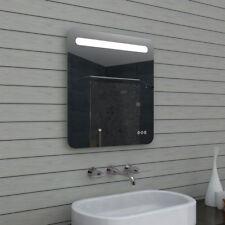 LED Wand Hänge Badezimmerspiegel Spiegel Touchschalter dimmbar 80x65cm MLF60X65