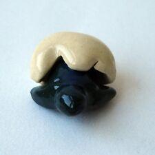 Tiny Cute Green Turtle Egg Ceramic FIGURINE Home Garden Decor MINIATURE Gift